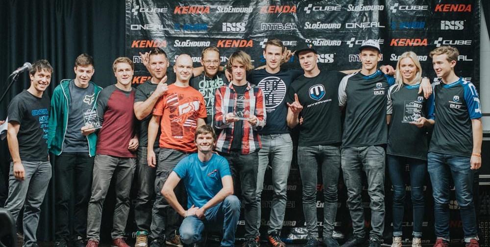 Najboljše tri ekipe: Energijateam na prvem, Kamplc na drugem in RLM Mondraker na tretjem mestu